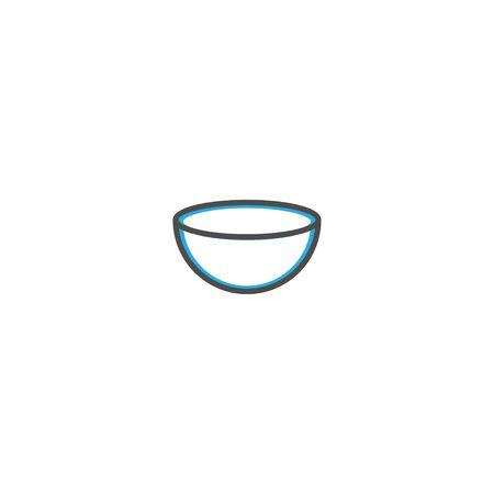 Bowl icon design. Gastronomy icon vector illustration design Ilustração