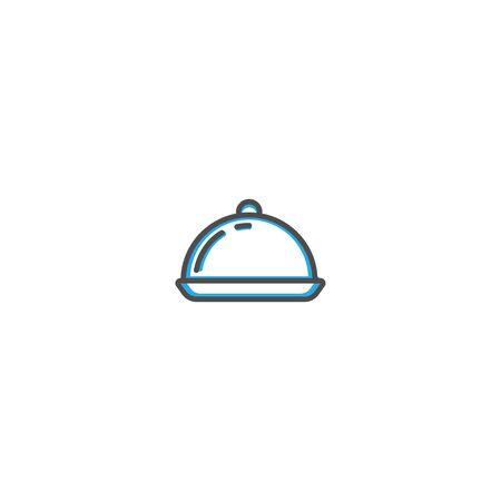 Dish icon design. Gastronomy icon vector illustration design Stock Vector - 128896584