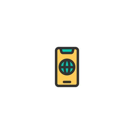 Phone icon design. e-commerce icon vector illustration
