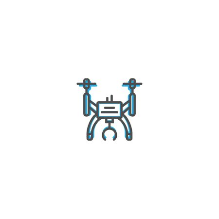 Drone icon design. Transportation icon vector illustration 向量圖像