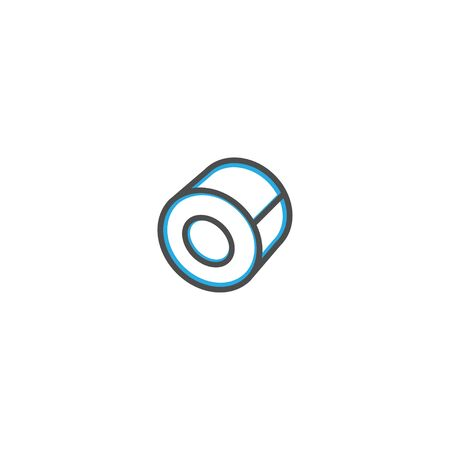 Tape icon design. Stationery icon vector illustration