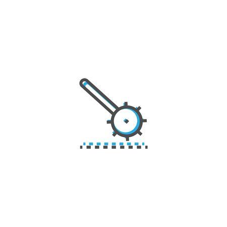 Cogwheel icon design. Stationery icon vector illustration