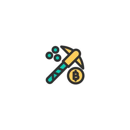 Mining icon design. e-commerce icon vector illustration
