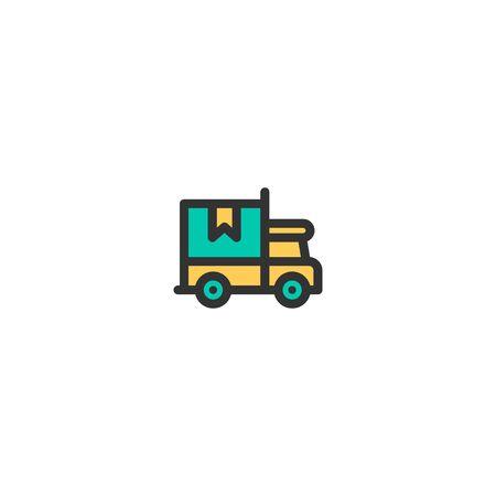 Shipping icon design. e-commerce icon vector illustration
