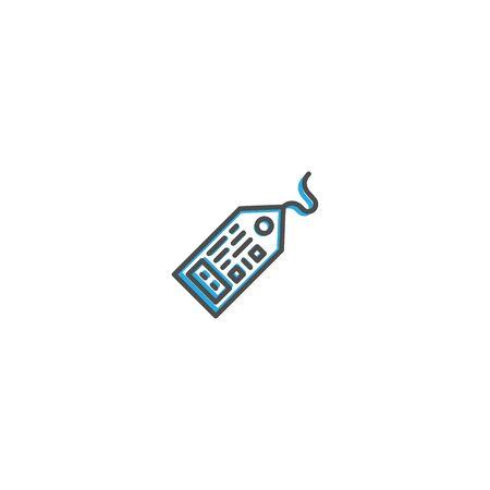 Tag icon design. Shopping icon vector illustration 写真素材 - 128904315