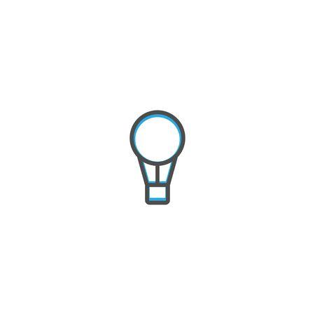 Hot air ballon icon design. Transportation icon vector illustration  イラスト・ベクター素材