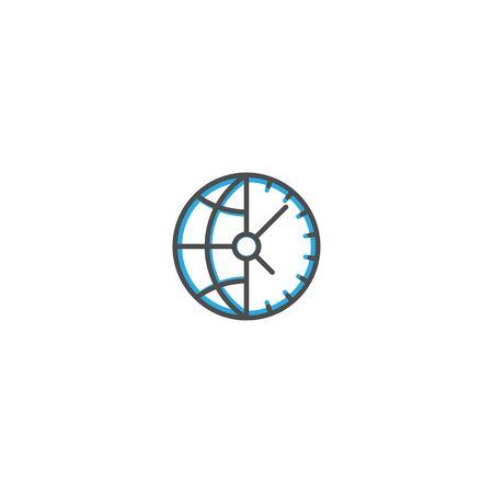 Modern and minimalist icon design. Management icon vector design illustration Reklamní fotografie - 128904556
