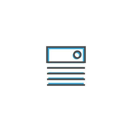 Pan tone icon design. Stationery icon vector illustration