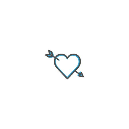 Cupid Icon Design. Lifestyle icon vector design Ilustração