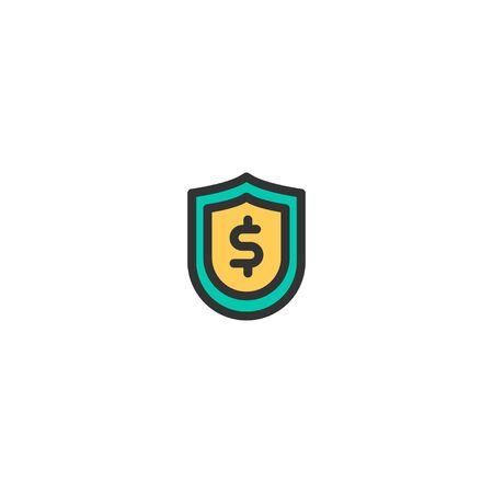 Shield icon design. e-commerce icon vector illustration