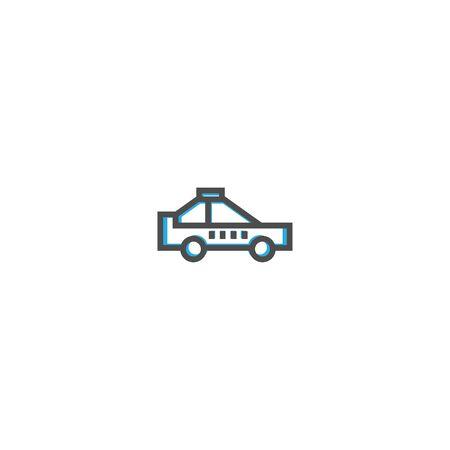 Taxi icon design. Transportation icon vector illustration Ilustracja