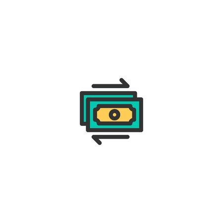 Cash icon design. e-commerce icon vector illustration Иллюстрация