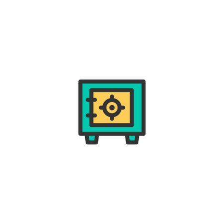 Safe box icon design. e-commerce icon vector illustration Ilustração