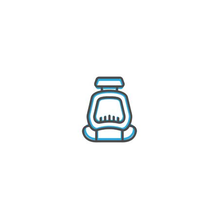 Safety seat icon design. Transportation icon vector illustration