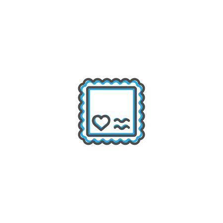 Stamp Icon Design. Lifestyle icon vector design