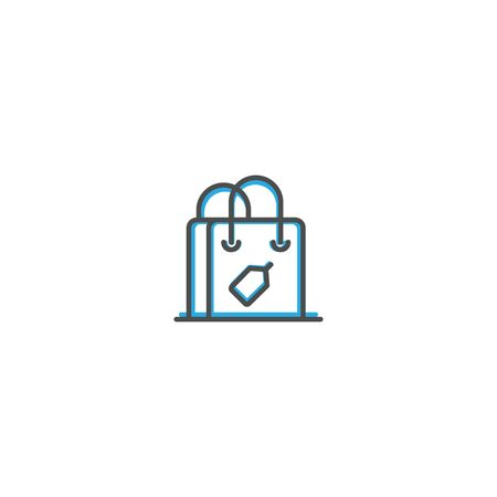Shopping bag icon design. Shopping icon vector illustration