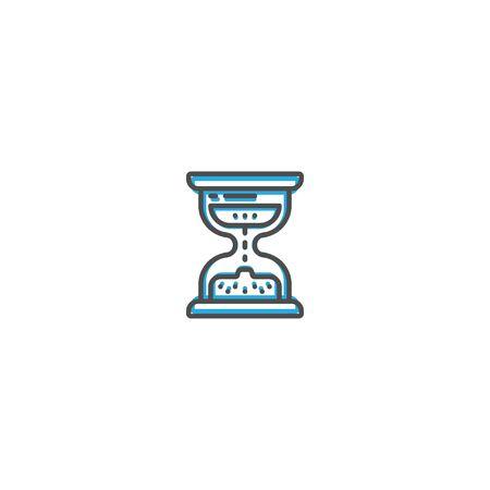 Modern and minimalist icon design. Management icon vector design illustration Reklamní fotografie - 128906123