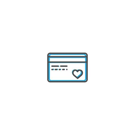Credit card Icon Design. Lifestyle icon vector design