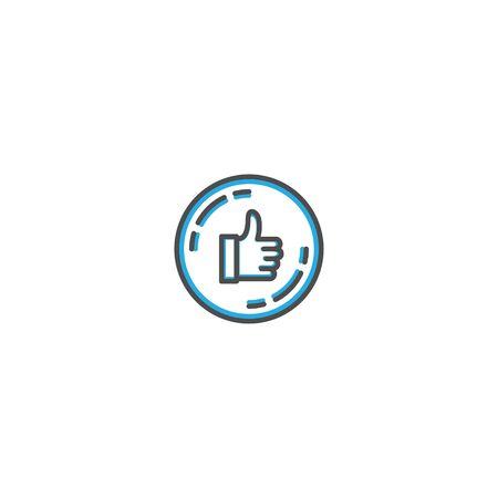 Like icon design. Shopping icon vector illustration