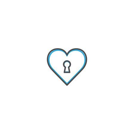Heart Icon Design. Lifestyle icon vector design