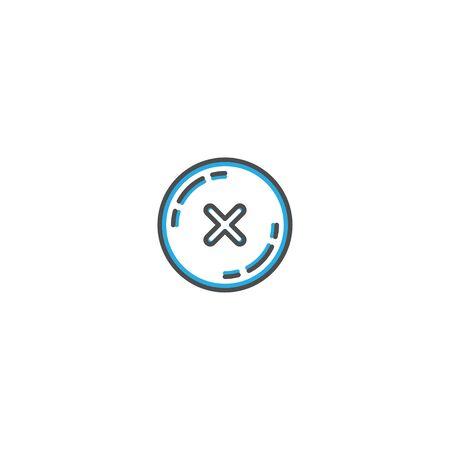Error icon design. Shopping icon vector illustration