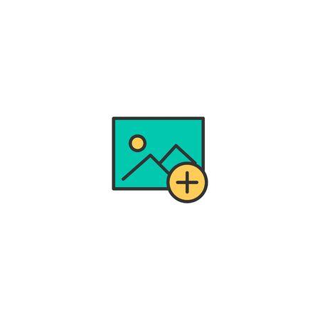 Image icon design. Interaction icon vector illustration Zdjęcie Seryjne - 128907494