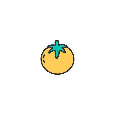 Tomato icon design. Gastronomy icon vector illustration 写真素材 - 128907686