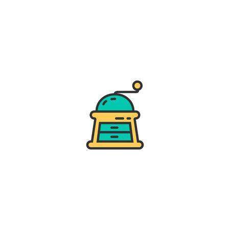 Grinder icon design. Gastronomy icon vector illustration Stock Vector - 128908213