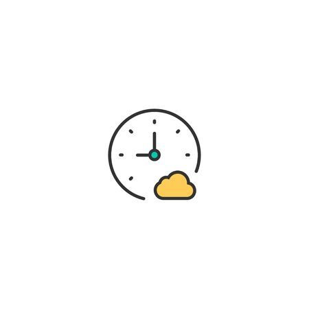 Stopwatch icon design. Interaction icon vector illustration