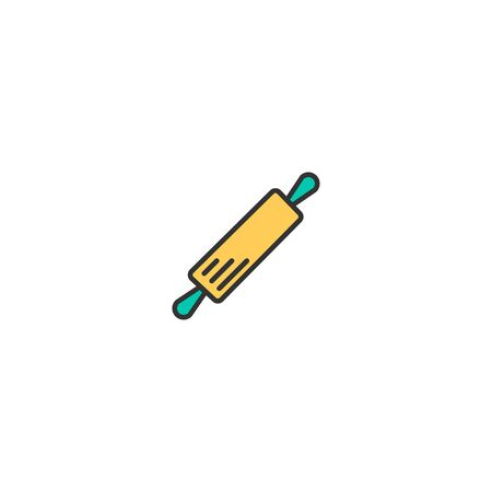 Rolling Pin icon design. Gastronomy icon vector illustration