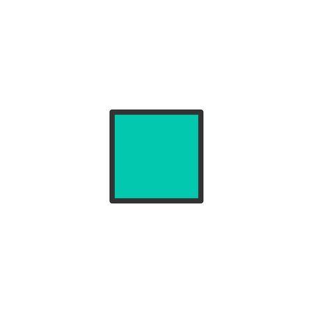 Stop icon design. Essential icon vector illustration