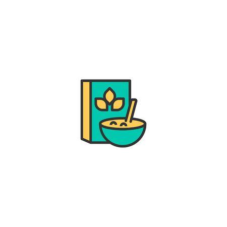 Cereals icon design. Gastronomy icon vector illustration