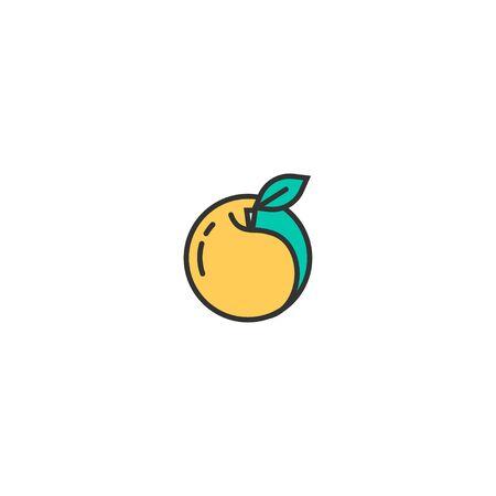 Pearch icon design. Gastronomy icon vector illustration Imagens - 128978214