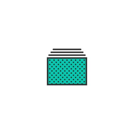 Tabs icon design. Essential icon vector illustration