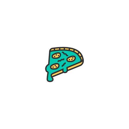 Pizza icon design. Gastronomy icon vector illustration Фото со стока - 128978492
