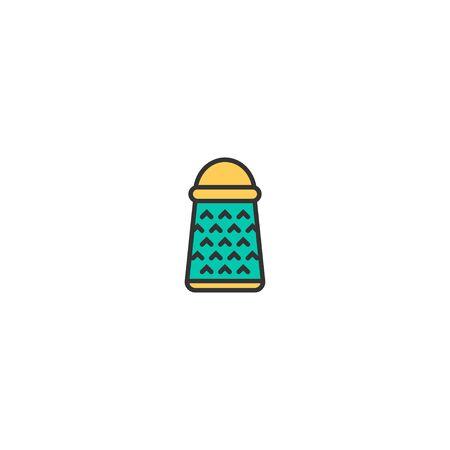 Grater icon design. Gastronomy icon vector illustration Çizim
