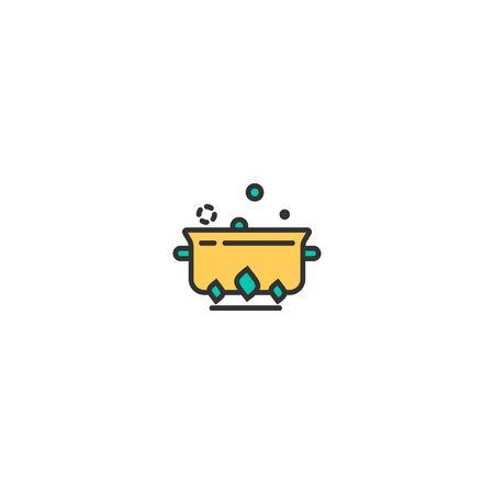 Stew icon design. Gastronomy icon vector illustration