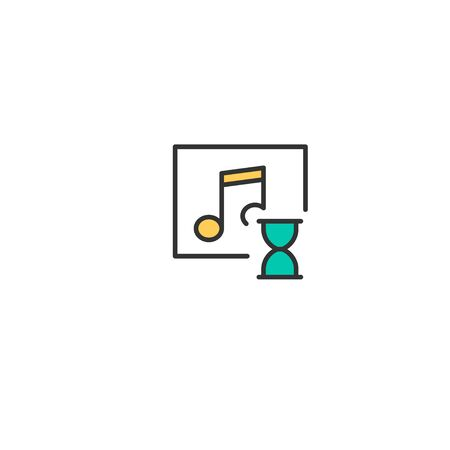 Music Player icon design. Interaction icon vector illustration
