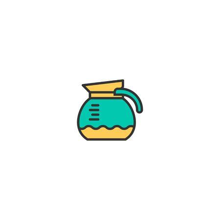Coffee maker icon design. Gastronomy icon vector illustration