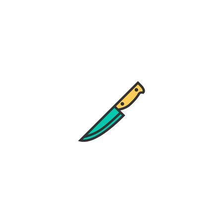 Knife icon design. Gastronomy icon vector illustration