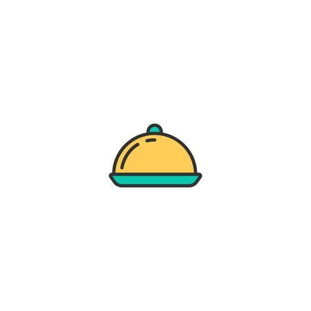 Dish icon design. Gastronomy icon vector illustration Stock Vector - 129035679