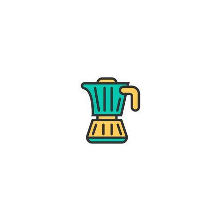 Coffee icon design. Gastronomy icon vector illustration Stock Illustratie