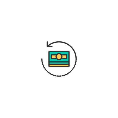 Money icon design. Marketing icon vector illustration