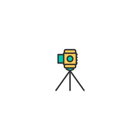 Video Camera icon design. Video icon vector illustration