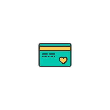 Credit card Icon Design. Lifestyle icon vector illustration