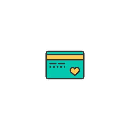 Credit card Icon Design. Lifestyle icon vector illustration