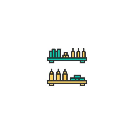 Product icon design. Shopping icon vector illustration Stock Illustratie