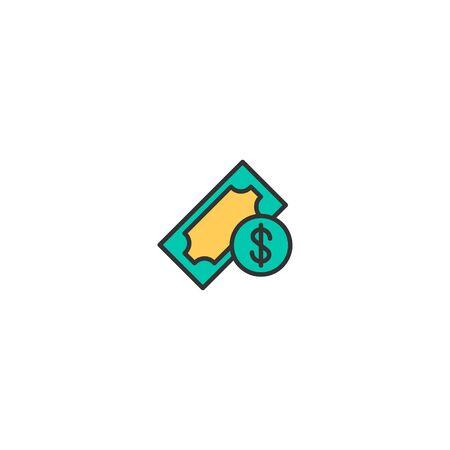 Money icon design. Shopping icon vector illustration