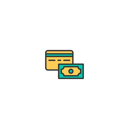 Credit card icon design. Shopping icon vector illustration