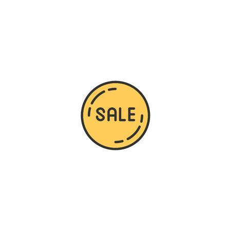 Sale icon design. Shopping icon vector illustration